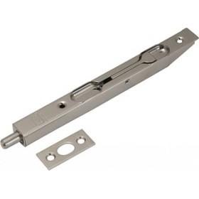 Упор AGB торцевой дверной (никель) 150 мм