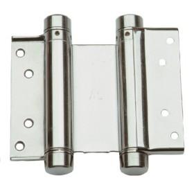 Дверная петля пружинная (барная) ALDEGHI 148x42x50 никель