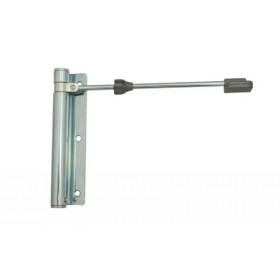 Доводчик дверной пружинный до 60кг Aldeghi Геркулес 170x39 белая оцинкованная сталь