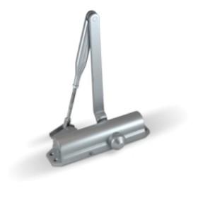 Доводчик ABLOY DC 120 EN2/3/4, с рычажной тягой ФОП, BC, цвет - серебро