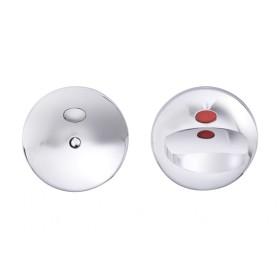 Поворотная кнопка для туалетных кабин Abloy 002 WC MS/CR