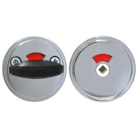 Поворотная кнопка для туалетных кабин Abloy 005 WC Zn/CR ХРОМ