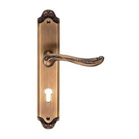 Дверная ручка Archie Genesis Acanto Античный кофе под ключевой цилиндр