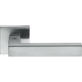 Дверная Ручка Colombo Ellesse Bd21 Cromat Хром Матовый