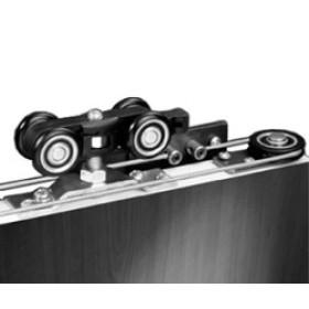 Механизм Ducasse для 2-х раздвижных дверей D-80 Telescopic (без направляющей)