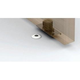 Упор магнитный напольный дверной автоматический скрытый FANTOM PREMIUM HGT001 Прозрачный