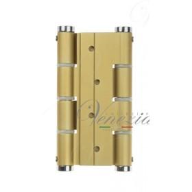 Петля пружинная Justor (барная) двухсторонняя 5414.02 120x133x40 матовое золото