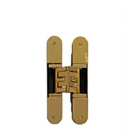 KUBICA 5080 DXSX, GOLD петля скрытая универсальная ЗОЛОТО (80 kg)