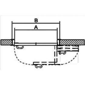 СИСТЕМА КНИЖКА для межкомнатных дверей MORELLI 180-TWICE RIGHT 60 Механизм компакт (COMPACK)