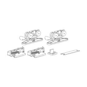 Комплект раздвижных механизмов для двери весом до 40 кг. Morelli SLIDING SET 1