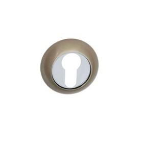 Накладка дверная под цилиндр PALIDORE CL HH белый никель
