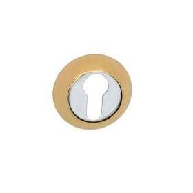 Накладка дверная под цилиндр PALIDORE CL PB полированное золото