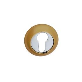 Накладка дверная под цилиндр PALIDORE CL SB матовое золото