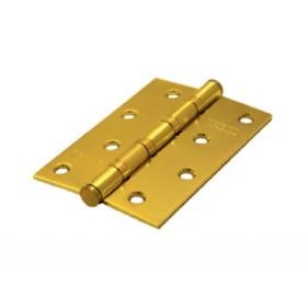 Дверная петля универсальная Palidore 100*70*2,5 4ВВ SВ ARSENAL матовое золото