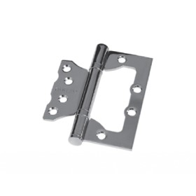 Дверная петля без врезки Palidore 100*75*2,5 2ВВ PC ARSENAL полированный хром