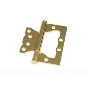 Дверная петля без врезки Palidore 100*75*2,5 2ВВ SB ARSENAL матовое золото