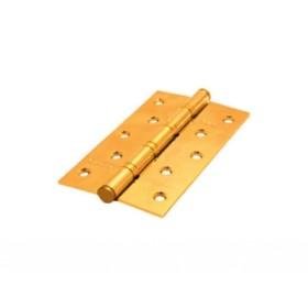 Дверная петля универсальная Palidore 125*75*2,5 4ВВ РВ ARSENAL полированное золото