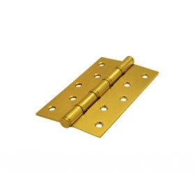 Дверная петля универсальная Palidore 125*75*2,5 4ВВ SB ARSENAL матовое золото