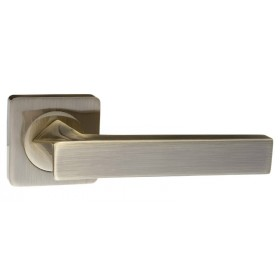 """Межкомнатная дверная ручка RENZ """"Равенна"""" DH 302-02 AB бронза античная"""