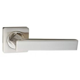 """Межкомнатная дверная ручка RENZ """"Равенна"""" DH 302-02 SN никель матовый"""