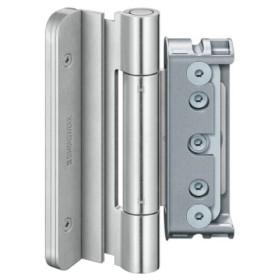 Петля BAKA Protect 4060 3D FD MSTS (противовзломная) до 160 кг SIMONSWERK (3 петли) цинк