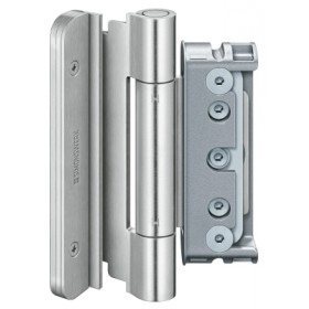 Комплект петель SIMONSWERK Baka PROTECT 4040 3D FD (матовая нержавеющая сталь) - 3шт.