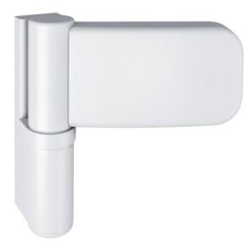 Петля SIMONSWERK SIKU 3D Serie K 3035 RAL 9016 белая, для дверей из PVC, вес полотна до 120кг, фальц 15-19мм