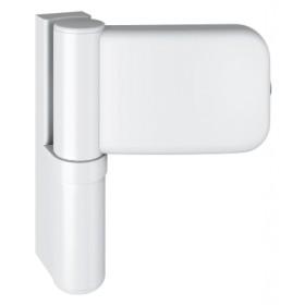 Петля SIMONSWERK SIKU 3D Serie K 4045 RAL 9016 белая, для дверей из PVC, вес полотна до 80кг, фальц 15-19мм