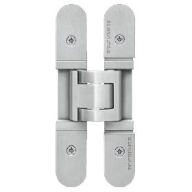 Петля скрытая SIMONSWERK Tectus TE 526 3D stainless steel (нержавеющая сталь), вес полотна до 120кг огнестойкая