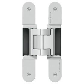 Петля скрытая SIMONSWERK Tectus TE 540 3D A8 stainless steel look (покрытие под нержавеющую сталь), вес полотна до 100кг