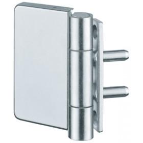 Петля Variant Multi 2D VN5046 оцинк., для дверей из стали и алюминия, вес полотна до 100кг