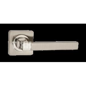 """Межкомнатная дверная ручка TIXX """"Каттлея"""", никель матовый/никель блестящий"""