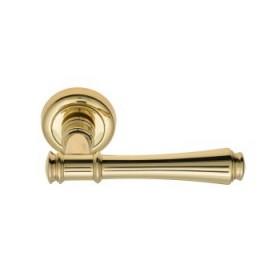 Дверная ручка Venezia Callisto D1 полированная латунь