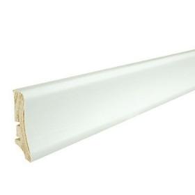 Плинтус Elite BARLINEK Р58, окрашенный в белый цвет, 2.2м