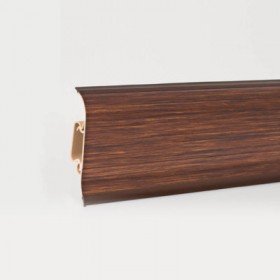 Пластиковый плинтус Korner (Кёрнер) Metallic Collection с кабель-каналом 58х21х2500 Brooklyn Copper