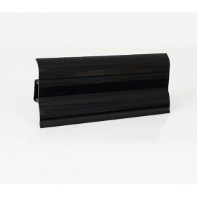 Пластиковый плинтус Korner (Кёрнер) Perfecta 62 с кабель-каналом 62х23х2500 Черный Блеск