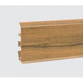 Пластиковый плинтус Korner (Кёрнер) Evo 70 с кабель-каналом 70х20.7х2500 Орех Blues 25-70-0-008
