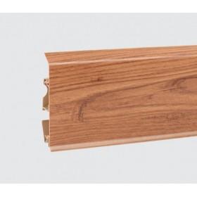 Пластиковый плинтус Korner (Кёрнер) Evo 70 с кабель-каналом 70х20.7х2500 Античный дуб 25-70-0-010