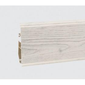 Пластиковый плинтус Korner (Кёрнер) Evo 70 с кабель-каналом 70х20.7х2500 Дуб Chillout 25-70-0-011