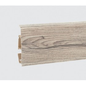 Пластиковый плинтус Korner (Кёрнер) Evo 70 с кабель-каналом 70х20.7х2500 Жасминовый дуб 25-70-0-013