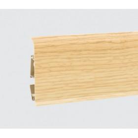 Пластиковый плинтус Korner (Кёрнер) Evo 70 с кабель-каналом 70х20.7х2500 Дуб Soul 25-70-0-019
