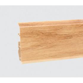 Пластиковый плинтус Korner (Кёрнер) Evo 70 с кабель-каналом 70х20.7х2500 Благородный дуб 25-70-0-020