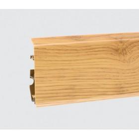 Пластиковый плинтус Korner (Кёрнер) Evo 70 с кабель-каналом 70х20.7х2500 Рустикальный дуб 25-70-0-021
