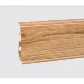 Пластиковый плинтус Korner (Кёрнер) Evo 70 с кабель-каналом 70х20.7х2500 Дуб Exclusive 25-70-0-022