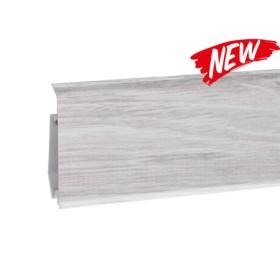 Пластиковый плинтус Korner (Кёрнер) Evo 70 с кабель-каналом 70х20.7х2500 Дуб Нике 25-71-0-025E