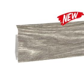 Пластиковый плинтус Korner (Кёрнер) Evo 70 с кабель-каналом 70х20.7х2500 Дуб Болдер 25-71-0-026E