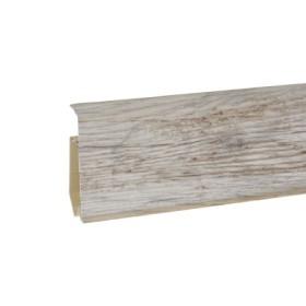 Пластиковый плинтус Korner (Кёрнер) Evo 70 с кабель-каналом 70х20.7х2500 Фреско 25-71-0-030Е