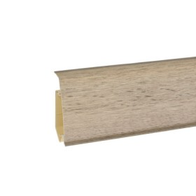 Пластиковый плинтус Korner (Кёрнер) Evo 70 с кабель-каналом 70х20.7х2500 Наварра 25-71-0-031Е