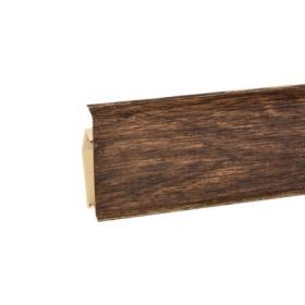 Пластиковый плинтус Korner (Кёрнер) Evo 70 с кабель-каналом 70х20.7х2500 Дуб кардамон 25-71-0-032Е