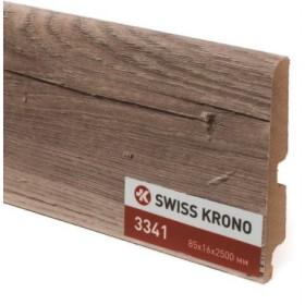Плинтус МДФ ламинированный Kronopol P85 3341, Jasmine Oak, 2500х85х16мм, 9шт/уп